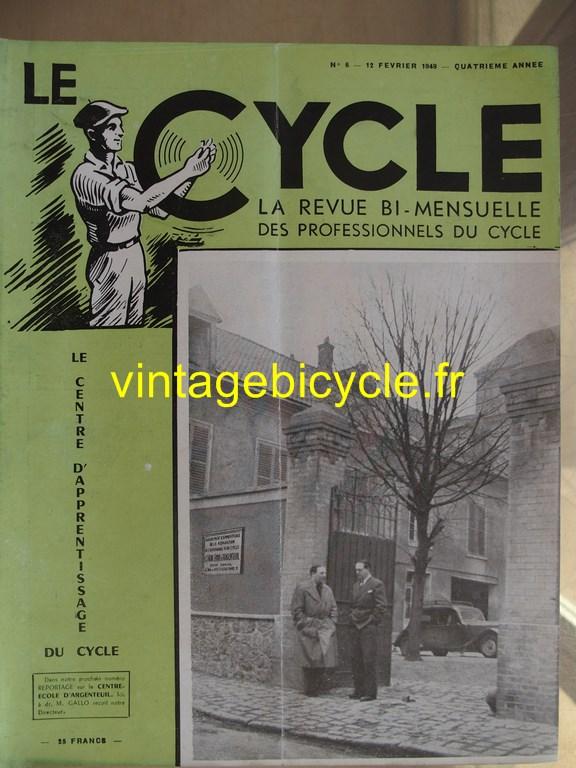 Vintage bicycle le cycle 64 copier