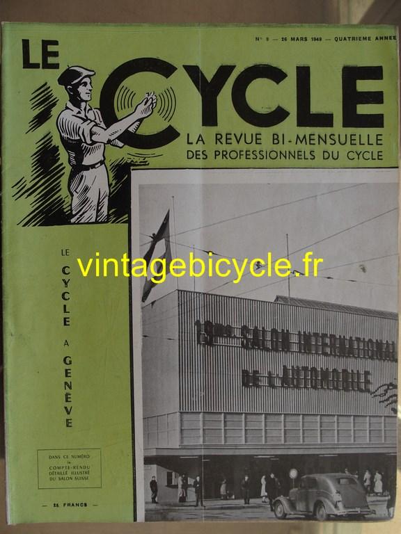 Vintage bicycle le cycle 68 copier