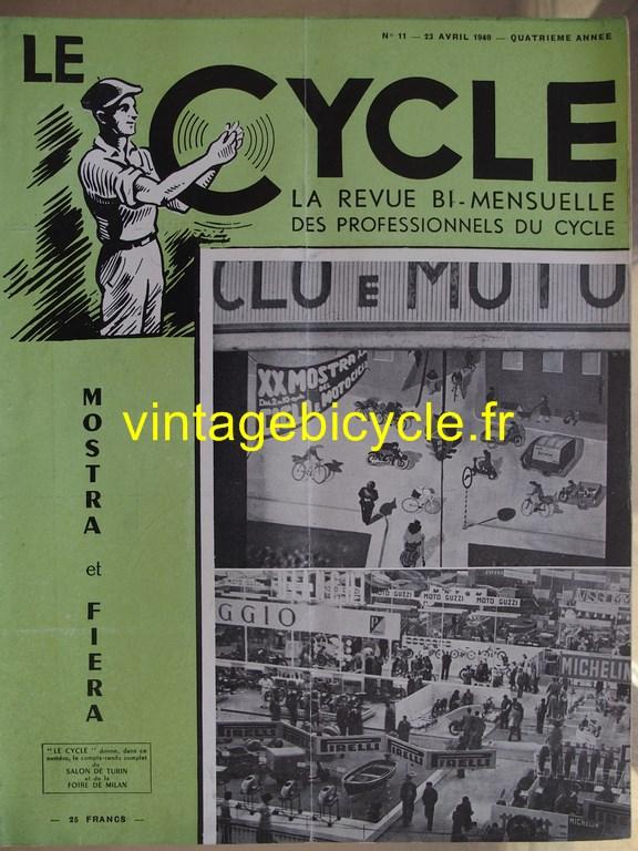 Vintage bicycle le cycle 70 copier