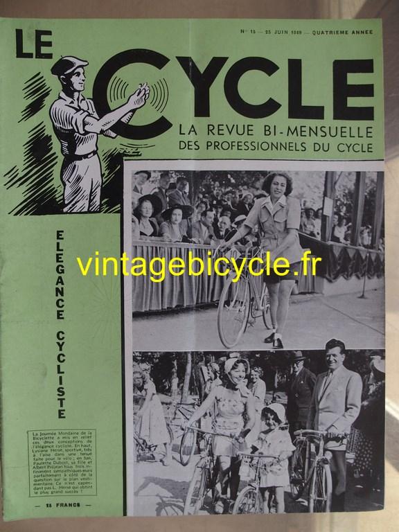 Vintage bicycle le cycle 73 copier
