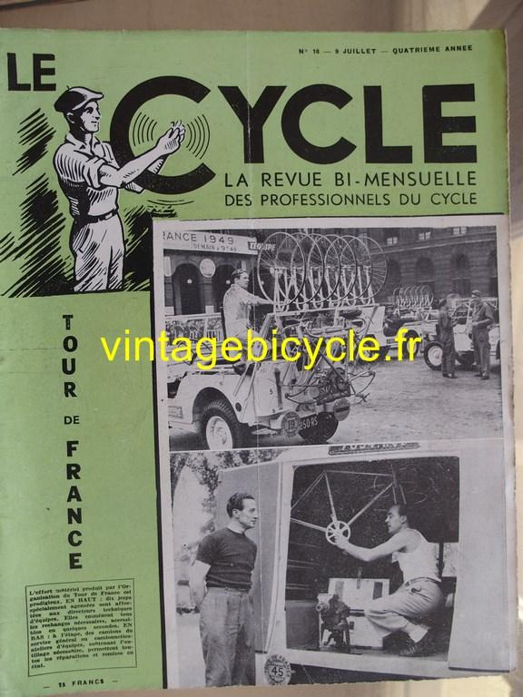 Vintage bicycle le cycle 74 copier