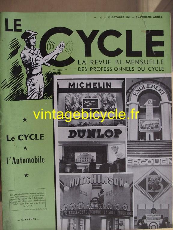 Vintage bicycle le cycle 77 copier