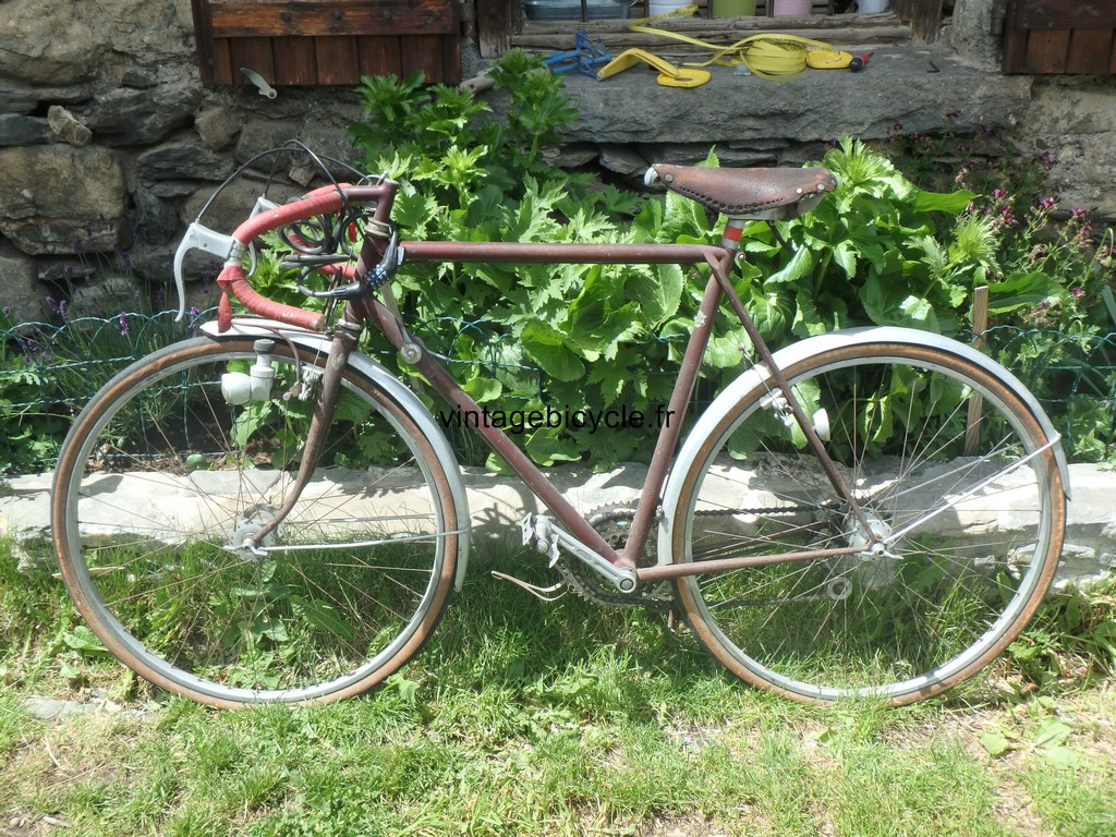 Randonneuse Jo Routens red 650B MJR