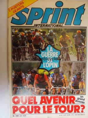 SPRINT INTERNATIONAL 1982 - 12 - N°23 decembre / janvier 1982