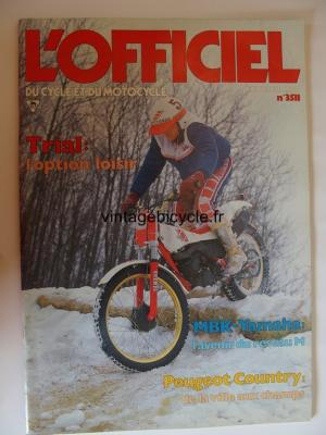 L'OFFICIEL du cycle et du motocycle 1987 - 02 - N°3511 fevrier 1987