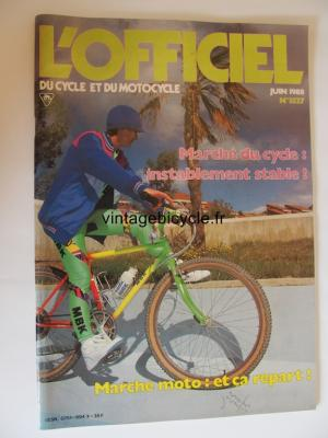 L'OFFICIEL du cycle et du motocycle 1988 - 06 - N°3527 juin 1988