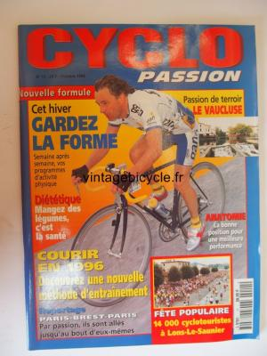 CYCLO PASSION 1995 - 10 - N°11 octobre 1995