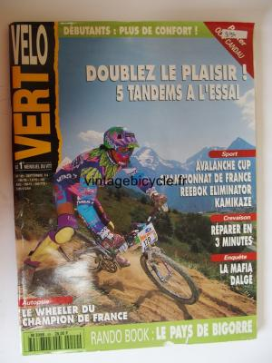 VELO VERT 1994 - 09 - N°49 septembre 1994