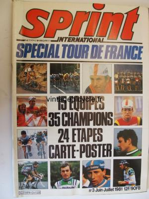 SPRINT INTERNATIONAL 1981 - 06 - N°03 juin / juillet 1981