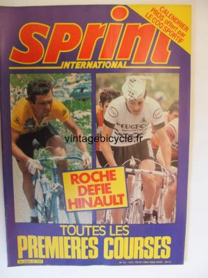 SPRINT INTERNATIONAL 1982 - 03 - N°12 mars 1982