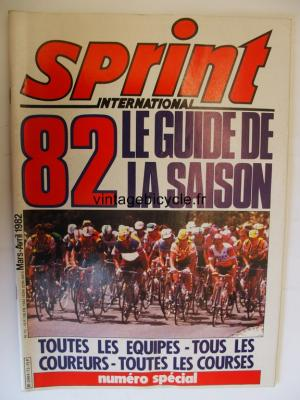 SPRINT INTERNATIONAL 1982 - 03 - N°13 mars / avril 1982