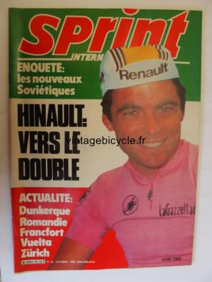 SPRINT INTERNATIONAL 1982 - 06 - N°16 juin 1982