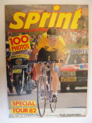SPRINT INTERNATIONAL 1982 - 08 - N°18 aout /septembre 1982