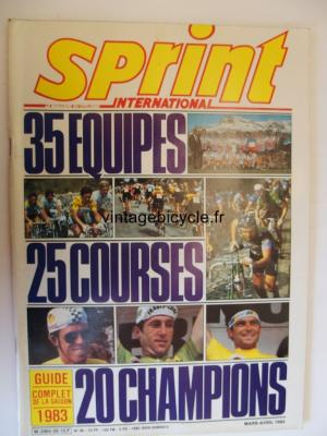 SPRINT INTERNATIONAL 1983 - 03 - N°26 mars / avril 1983