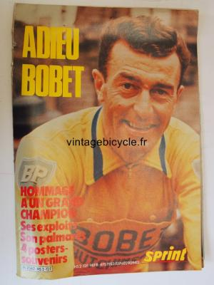 SPRINT INTERNATIONAL 1983 - 00 - ADIEU BOBET