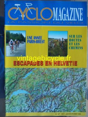 CYCLO MAGAZINE 1995 - 01 - N°427 janvier 1995