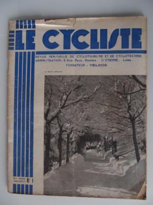 LE CYCLISTE 1937 - N°01