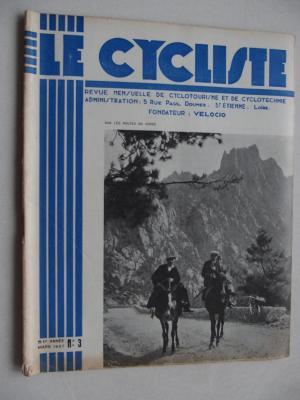 LE CYCLISTE 1937 - N°03