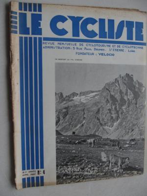 LE CYCLISTE 1937 - N°04