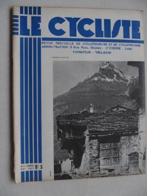 LE CYCLISTE 1937 - N°05