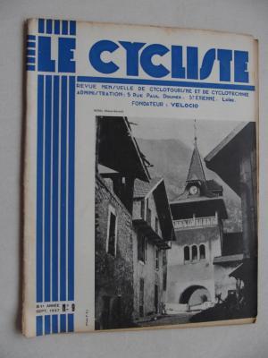 LE CYCLISTE 1937 - N°09