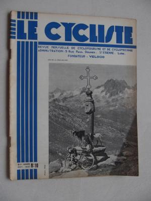 LE CYCLISTE 1937 - N°10