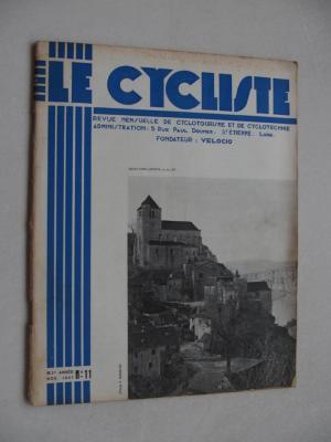 LE CYCLISTE 1937 - N°11