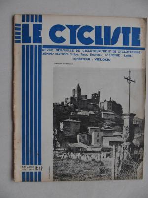LE CYCLISTE 1937 - N°12