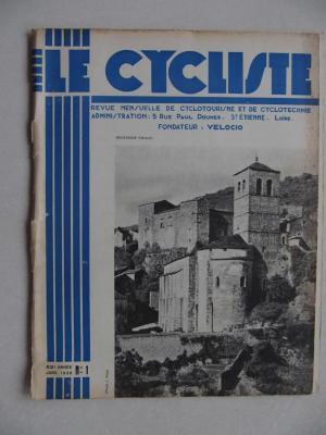 LE CYCLISTE 1938 - N°01