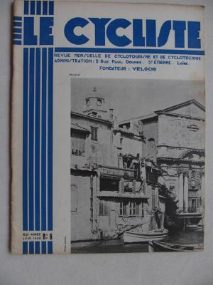 LE CYCLISTE 1938 - N°06