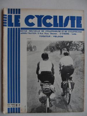 LE CYCLISTE 1938 - N°07