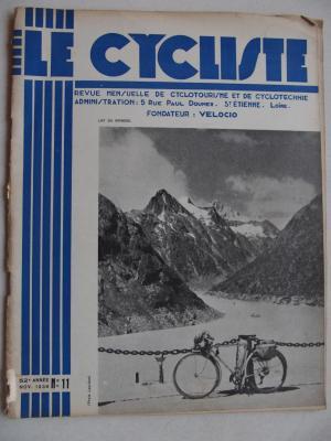 LE CYCLISTE 1938 - N°11