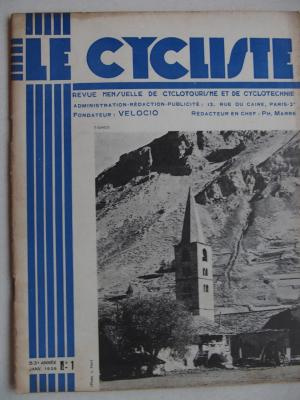 LE CYCLISTE 1939 - N°01