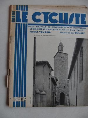 LE CYCLISTE 1939 - N°02
