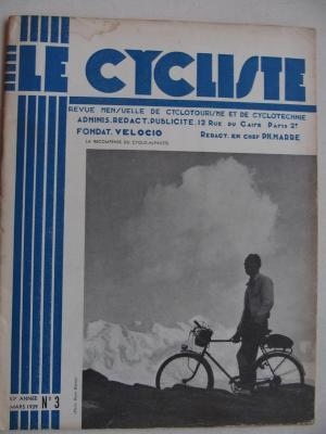 LE CYCLISTE 1939 - N°03