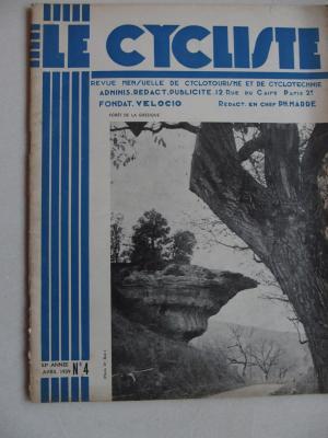 LE CYCLISTE 1939 - N°04