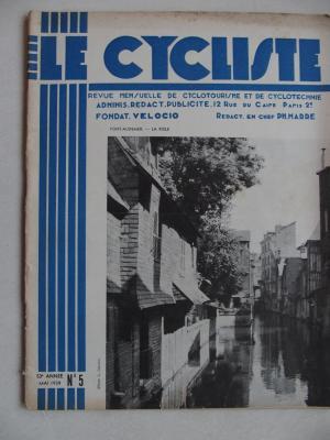 LE CYCLISTE 1939 - N°05