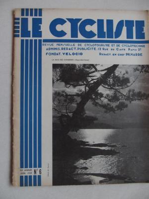 LE CYCLISTE 1939 - N°06