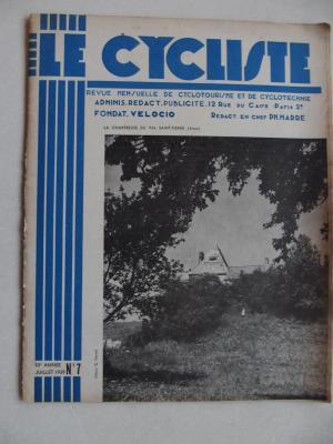 LE CYCLISTE 1939 - N°07