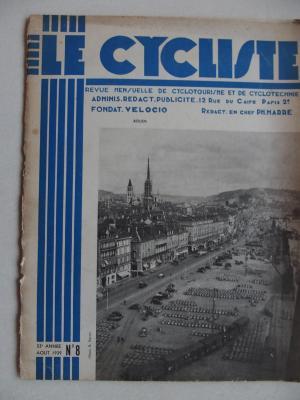 LE CYCLISTE 1939 - N°08