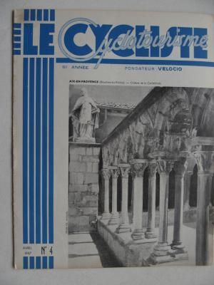 LE CYCLISTE 1947 - N°04