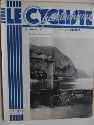 LE CYCLISTE 1947 - N°08