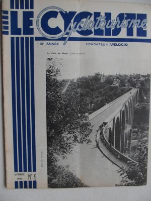LE CYCLISTE 1947 - N°09