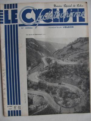 LE CYCLISTE 1947 - N°10