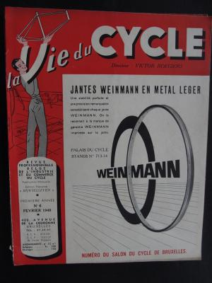 La Vie du CYCLE 1948 - 02 - N°6 Fevrier 1948