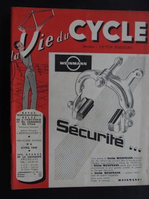 La Vie du CYCLE 1948 - 04 - N°8 Avril 1948