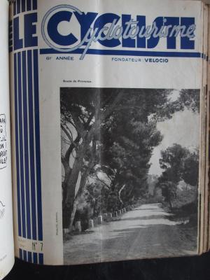 LE CYCLISTE 1947 - N°07