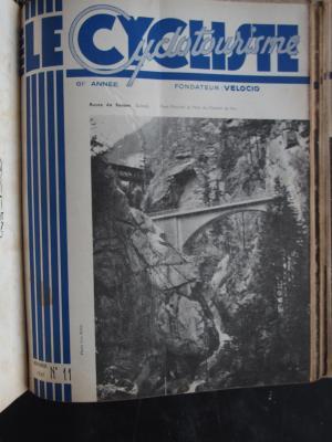 LE CYCLISTE 1947 - N°11