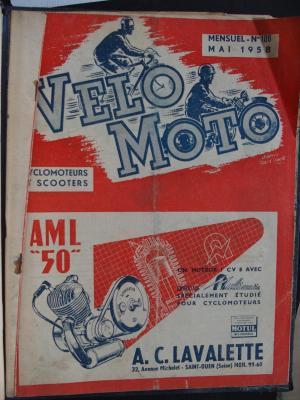 VELO MOTO 1958 - N°106