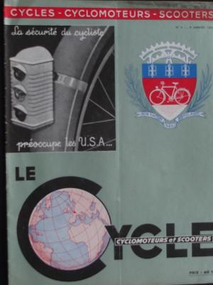 LE CYCLE 1954 - 01 - N°4 Janvier 1954